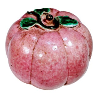 Antique Chinese Altar Fruit Model Melon Pomegranate For Sale
