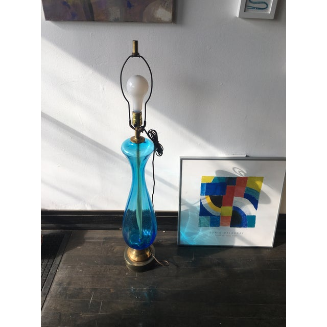 Italian Murano Glass Table Lamp - Image 2 of 5