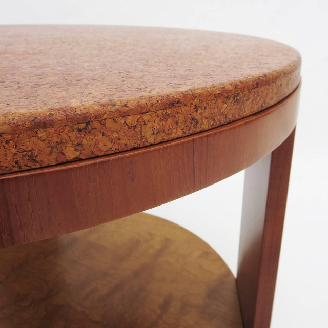 Original price $2800 - reduced to $1200! This lovely design, although unmarked, is very reminiscent of the Paul Frankl...