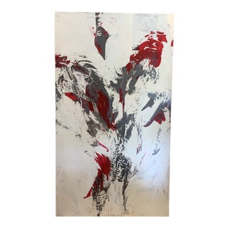 """""""Vive La Difference (One and the Same)"""" Contemporary Abstract Acrylic Painting by Will Day For Sale"""