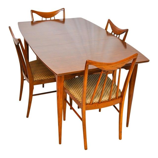 Keller Furniture Vintage Mid Century Modern Danish Dining Table