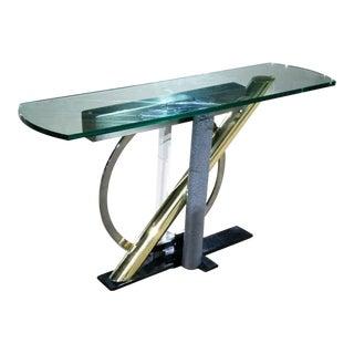 Kaizo Oto Dia Memphis Style Console Table