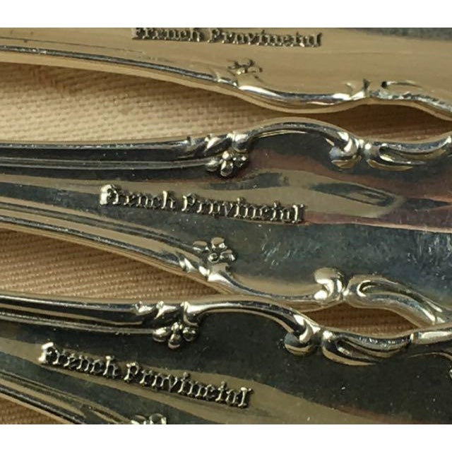 Silver Towle French Provincial Sterling Silver Service for Eight - 32 Pieces For Sale - Image 8 of 10