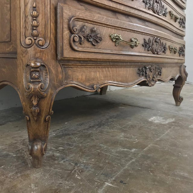 Antique Country French Secretary ~ Bookcase For Sale - Image 11 of 13