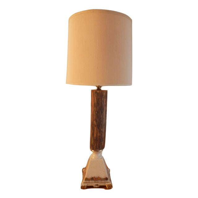 Vintage Rustic Farmhouse Table Lamp - Image 10 of 10