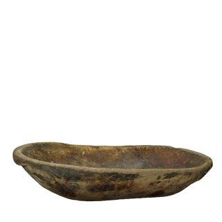 1910s Rustic Natural Form Elm Bowl