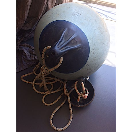 Vintage Boat Buoy With Anchor - Image 4 of 4