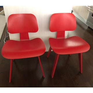 Eames® Molded Plywood Dining Chairs- A Pair Preview