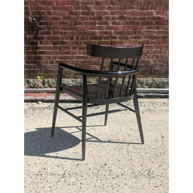 Wood Modernist Comb Back Windsor Chair by Paul McCobb For Sale - Image 7 of 10