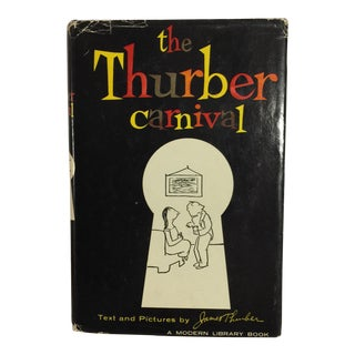 """The Thurber Carnival"" Modern Library Book For Sale"
