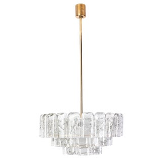 Mid-Century Modernist Chandelier by Doria For Sale