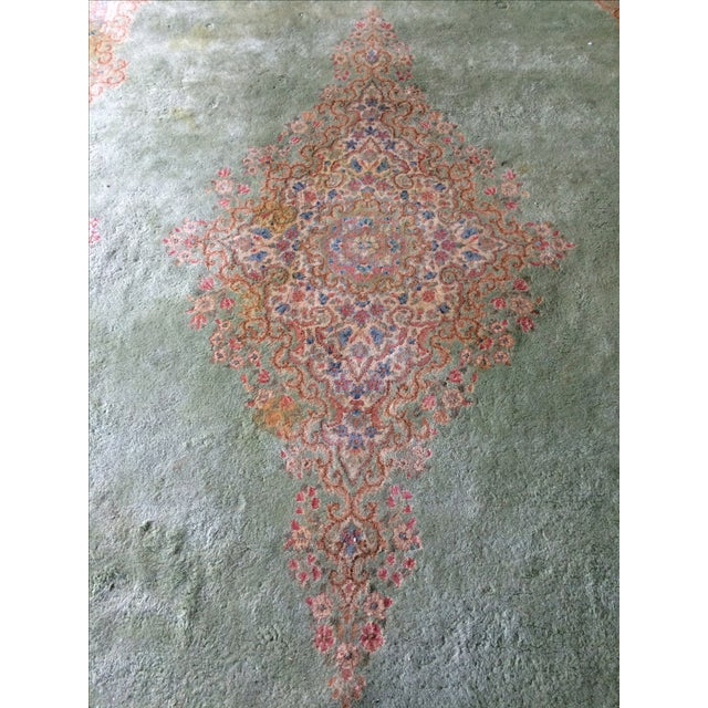 Traditional Iranian Handmade Wool Rug - 14′ × 10′ - Image 7 of 11