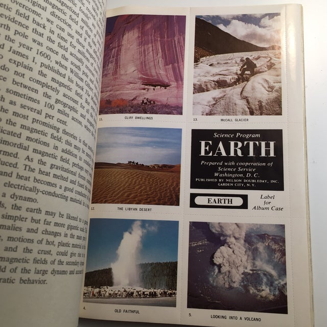 Paper 1967 Earth and Moon Science Service Books - Set of 2 For Sale - Image 7 of 11