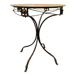 Indoor/Outdoor Glass Top Table