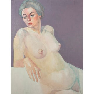 Oil Painting of a Nude Woman