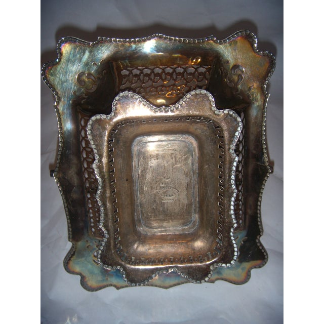 Leviathan Silver Plate Fruit Basket - Image 8 of 10