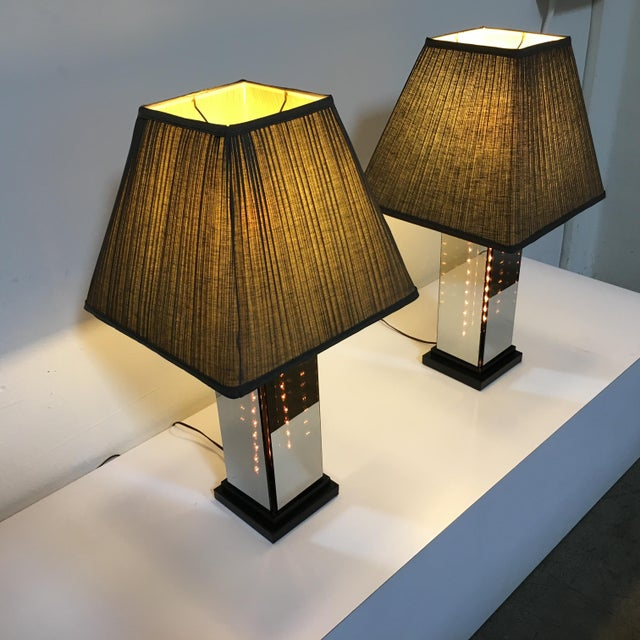 Liteline 1970s Table Lamps by Lifeline - A Pair For Sale - Image 4 of 9