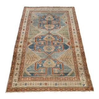 "Bellwether Rugs Antique Persian Malayer Rug - 4'1"" X 6'2"" For Sale"