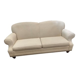 Ethan Allen Montgomery 2 Seat Cushion Sofa For Sale