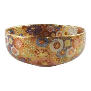 Satsuma 1000 Flowers Bowl For Sale