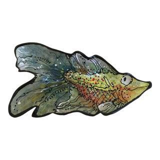 Ron Korczynski Crafted Ceramic Fish For Sale
