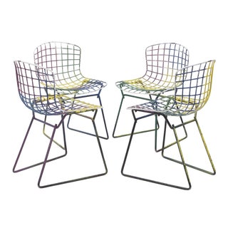 Knoll Bertoia Child Size Chairs Multi - Set of 4