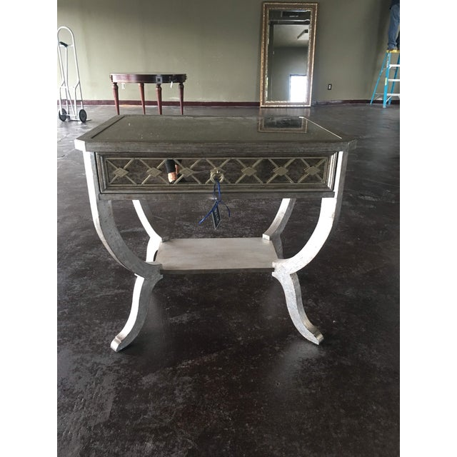 Modern Hooker Furniture 'Sanctuary' Mirrored Side Table For Sale - Image 12 of 12
