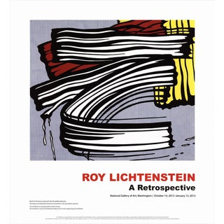Roy Lichtenstein-Little Big Painting-2012 Poster For Sale