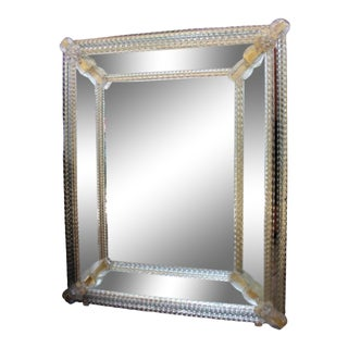 Fratelli Barbini - Venetian Mirror by Barbini For Sale
