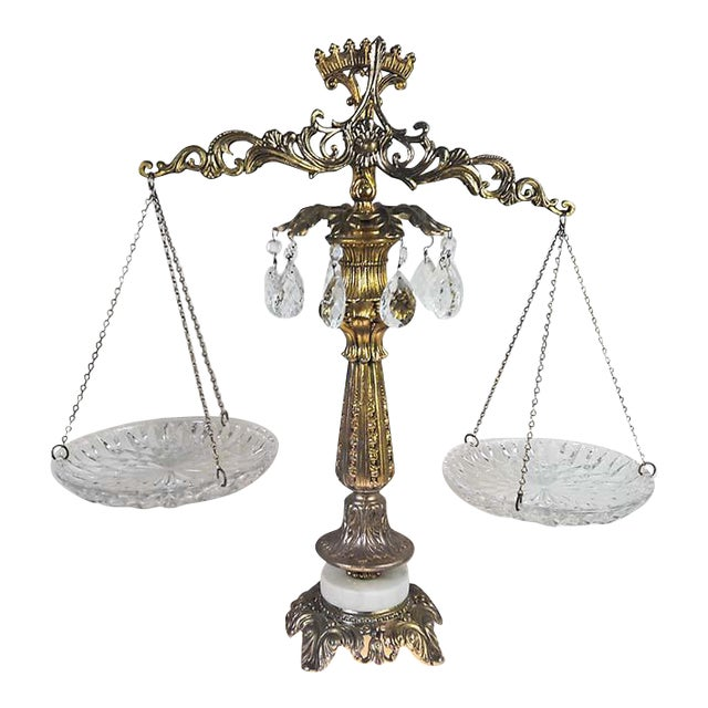 Vintage Brass Scales of Justice - Image 1 of 6