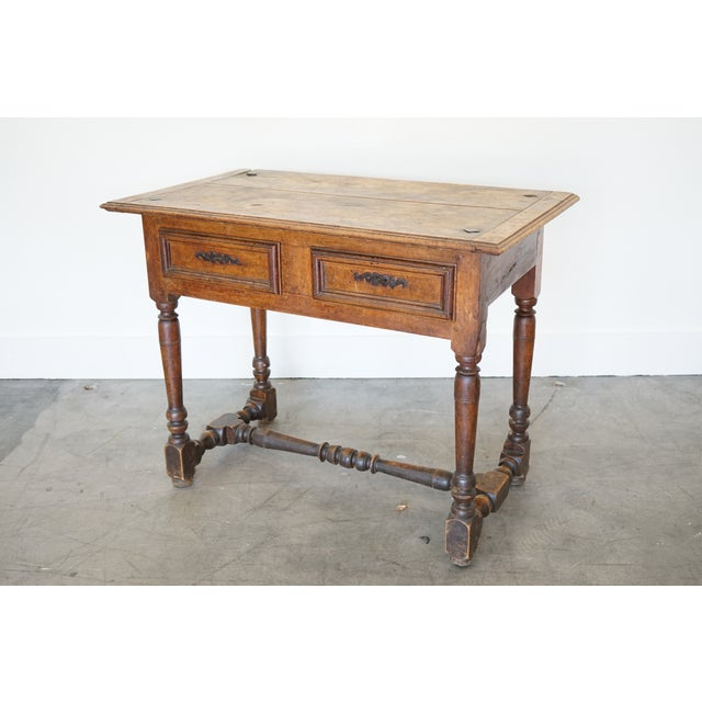 17th Century Antique French Louis XIII Side Table For Sale - Image 5 of 9