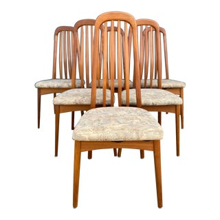 Benny Linden Railback Dining Chairs - Set of 6 For Sale