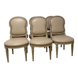 Dennis & Leen Dining Chairs- Set of 6 For Sale