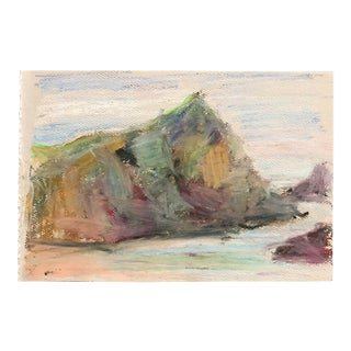 1980s Inga-Britta Mills Impressionistic European Pastel Drawing For Sale