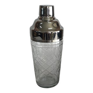 Cut Crystal Cocktail Shaker For Sale