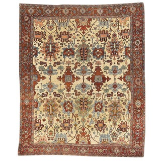 Elegant Heriz Carpet For Sale