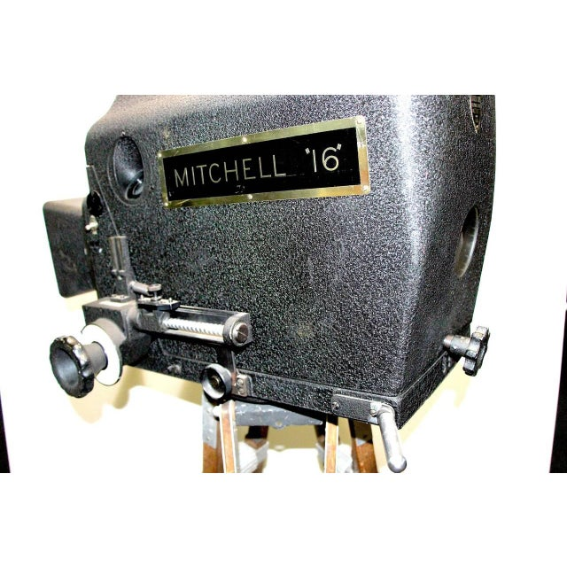 1940s Original Mitchell Camera 16mm Camera Studio Blimp Housing. Circa 1940. Display As Sculpture. For Sale - Image 5 of 6