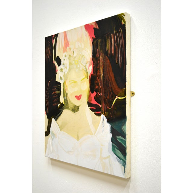 One of Jones' latest paintings based on memory and representation of self, whilst drawing from cinematic imagery. The work...