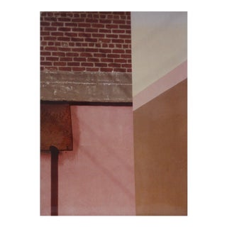 "1970s ""City Art 17"" Abstract Color Photograph"