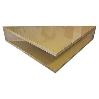 Mid-Century Modern Triangular Table