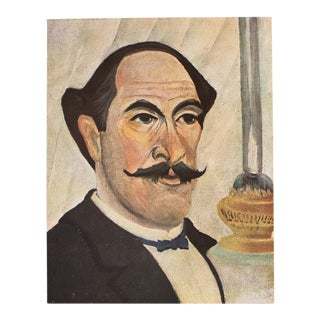 1940s Henri Rousseau, Original Self-Portrait Swiss Lithograph For Sale