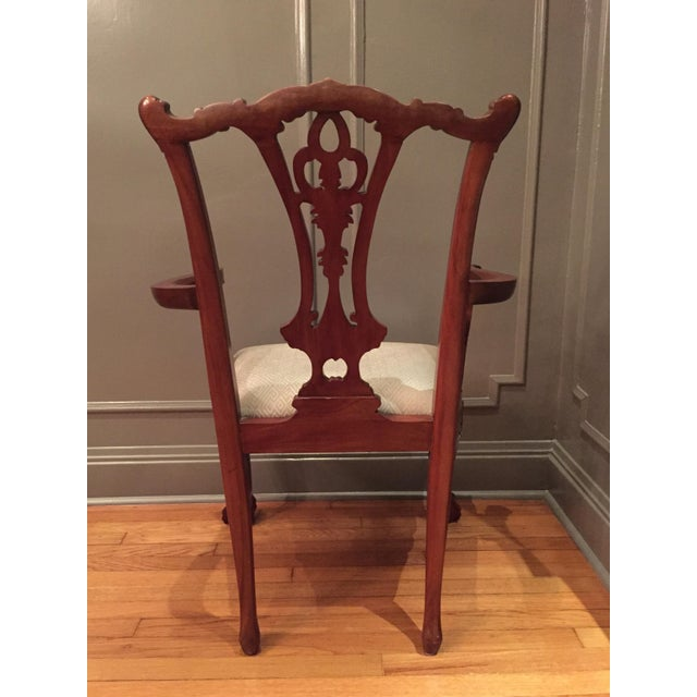 Vintage Chippendale Chairs - Set of 10 - Image 10 of 10