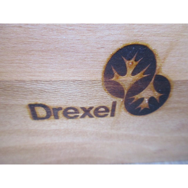 Drexel Lighted Bar Cabinet With Wine Rack - Image 12 of 12