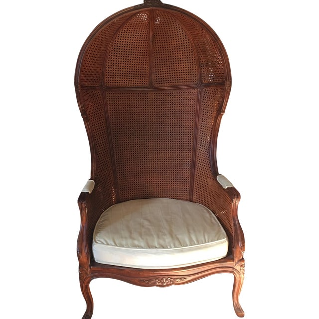 Antique Porter's Chair - Image 1 of 10