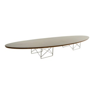 Mid-Century Modern Eames Metal Surfboard Coffee Table For Sale