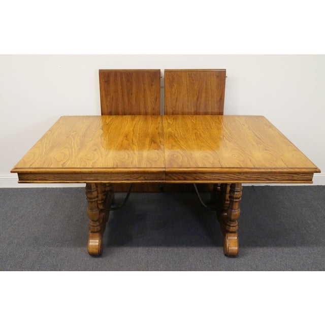 Thomasville 20th Century Spanish Revival Thomasville Segovia Dining Table For Sale - Image 4 of 11