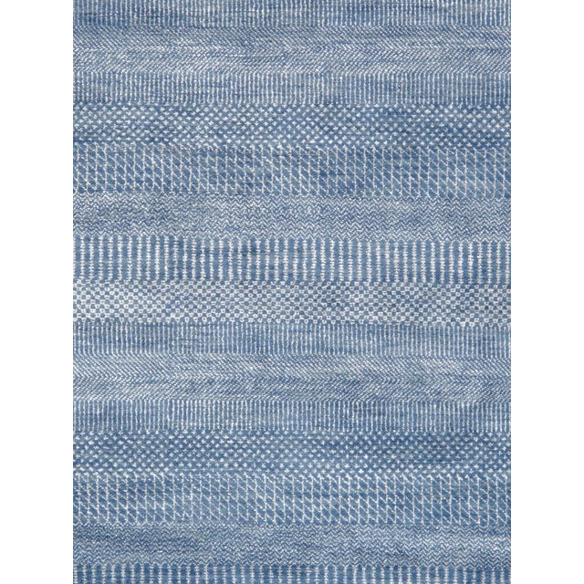 """Pasargad Transitional Silk & Wool Area Rug - 9' 1"""" X 12' 0"""" - Image 2 of 3"""
