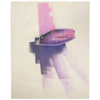 Original Mid Century Modern Industrial Artwork by Otto Claus Huckenbeck For Sale