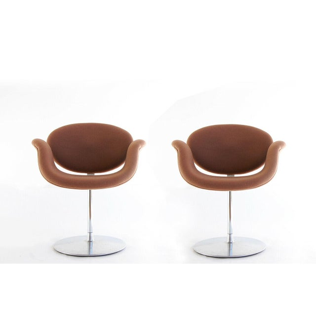 """1959, Pierre Paulin Mid Century Modern """"Tulip F545"""" Artifort Space Age Chairs- a Pair For Sale - Image 9 of 9"""