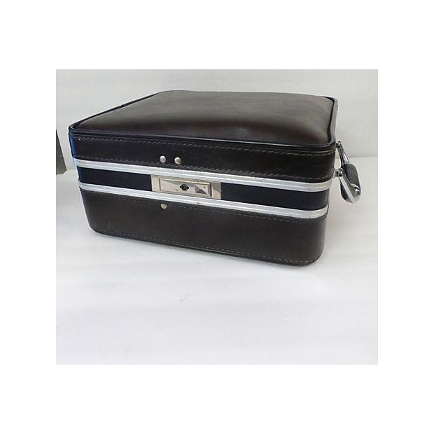Metal Mid Century Drinks Suitcase For Sale - Image 7 of 7
